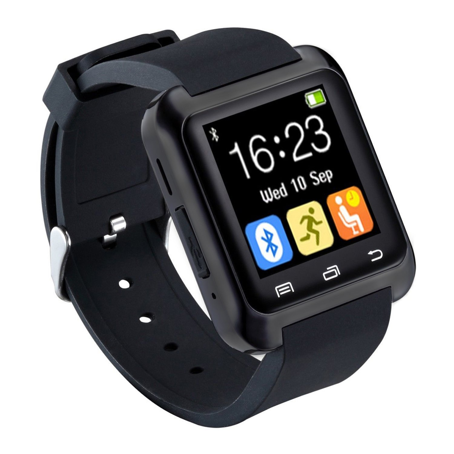 bluetooth smartwatch sport smart fitness uhr armband telefon uhren f r android ebay. Black Bedroom Furniture Sets. Home Design Ideas