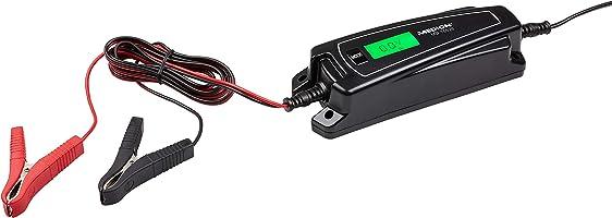 MEDION MD 15526 KFZ-Batterieladegerät, LC-Display, auch für Motorradbatterien, mikroprozessorgesteuerter Ladevorgang, Wiederbelebungsmodus (12V)