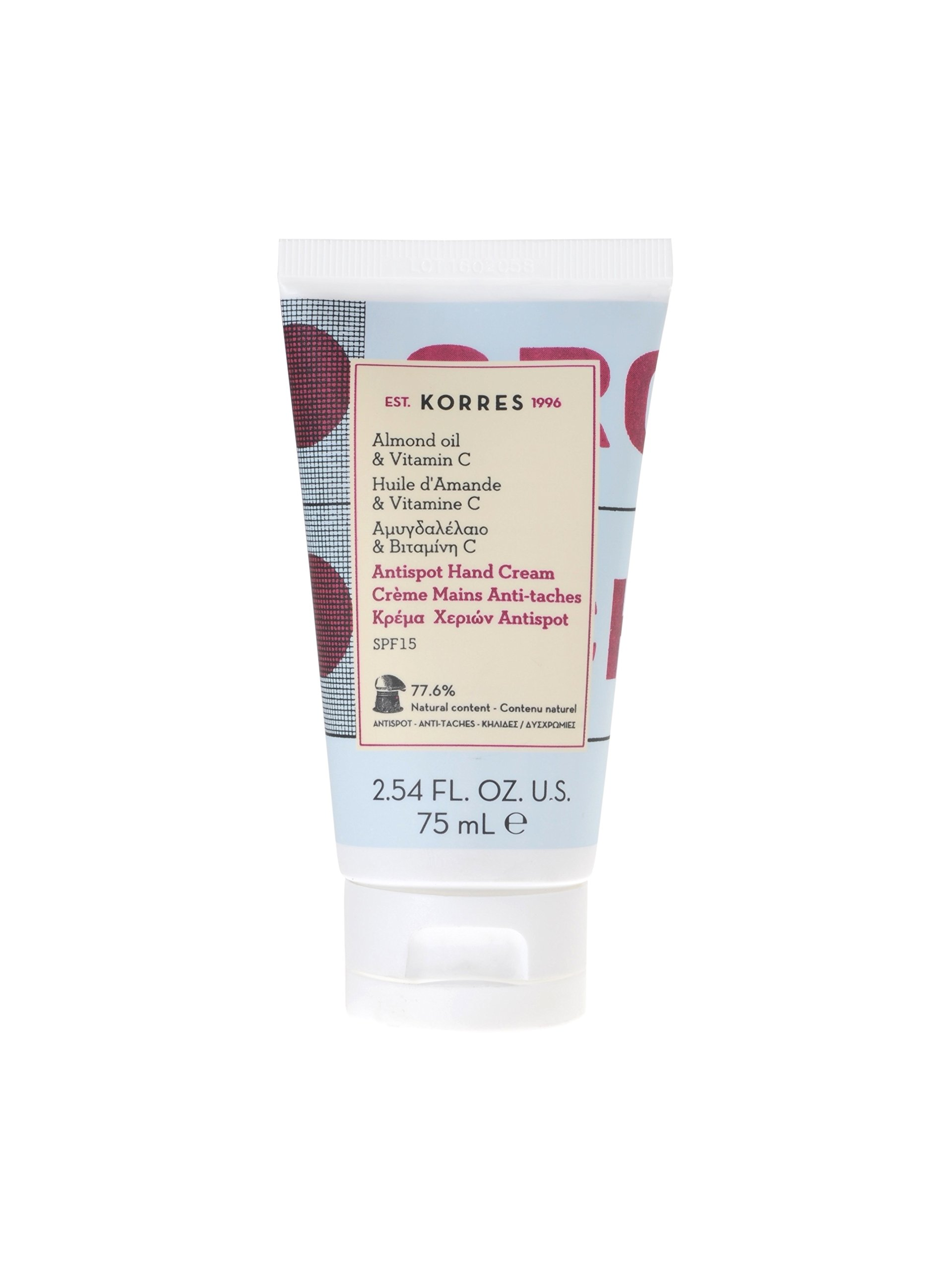 Korres Crema De Manos Anti Manchas (Aceite De Almendras Y Vitamina C) – 75 ml.