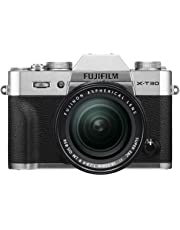 Fujifilm X-T30 Mirrorless Digital Camera Kit (Black) with XF 18-55mm F2.8-4 LM OIS Lens (Silver)