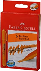 Faber-Castell Gel Textliner - Pack of 6 (Orange)