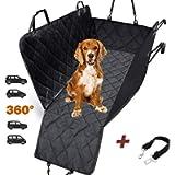 Coprisedile auto per cani da interno veicolo AMZPET – Telo impermeabile auto per cani – Telo auto per cani lavabile in…