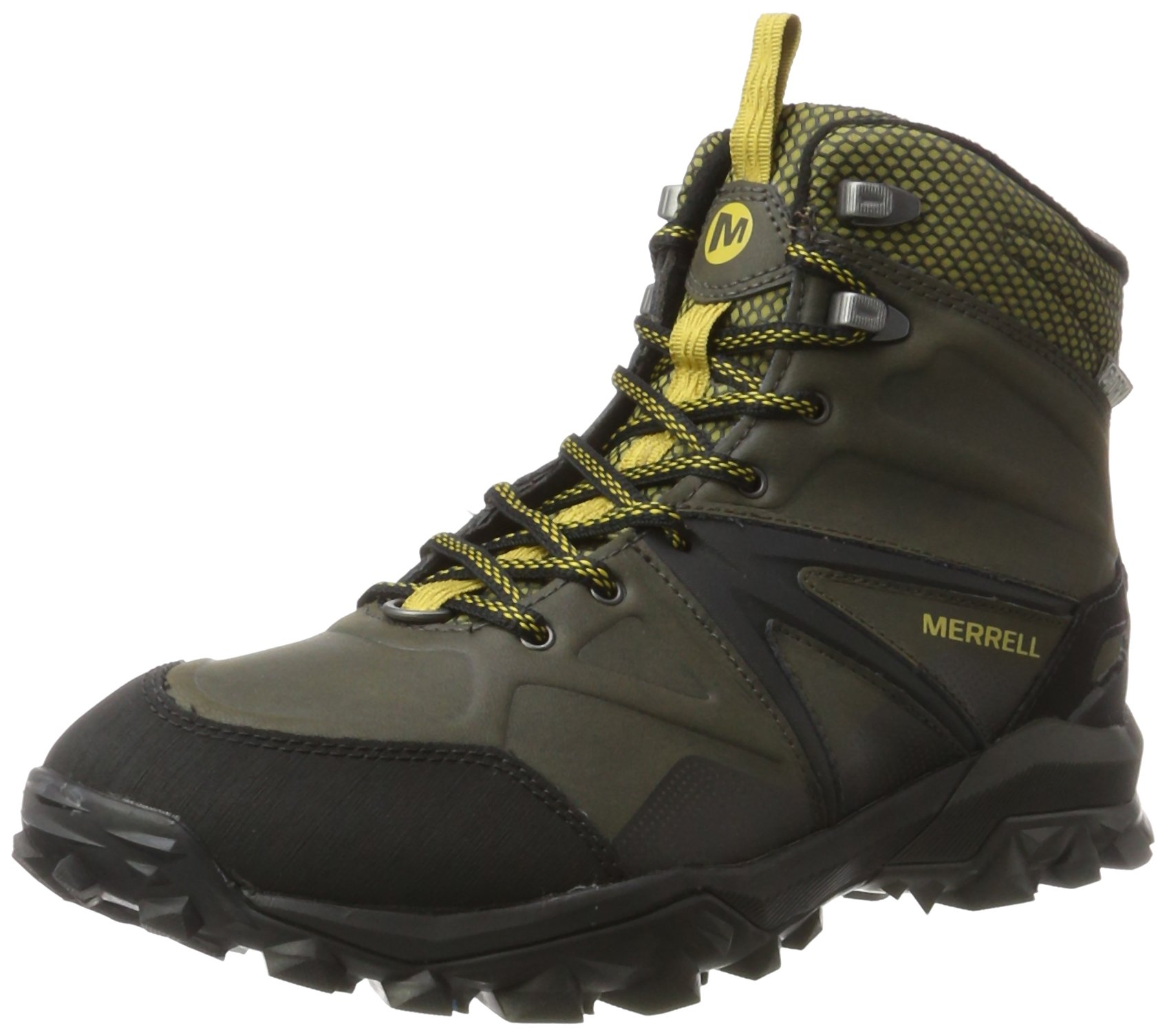 new arrival outlet boutique largest selection of 2019 Merrell Men's Capra Glacial Ice+ Mid Waterproof High Rise Hiking Boots