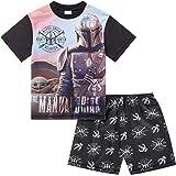 Mandalorian Boys Short Summer Pyjamas Baby Yoda Pjs Official Star Wars Merchandise