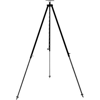 Grillplanet Dreibein Gestell für Gulaschkessel und Schwenkgrill ca. 180 cm mit Kettenhöhenverstellung durch Kettenzug