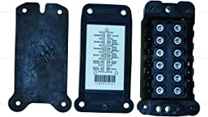 Universal Blinker-Set mit Adapter und Unterst/ützung f/ür die Verkleidung