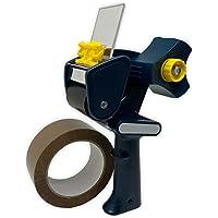 pistolet dévidoir applicateur de ruban adhésif professionnel compatible avec ruban adhésif,rouleau standard dérouleur…