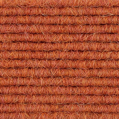 Teppichboden Teppich-Fliese | Tretford Interland ECO | 50x50 cm | orange 585