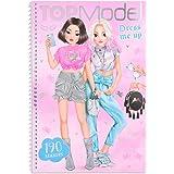Depesche TOPModel Dress me up Kitchy Angel 11444 - Libro para colorear con pegatinas, 24 páginas, 5 hojas de pegatinas de pap