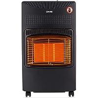 DMS® Gasheizofen 4200W Heizgerät Gasheizung Gasheizer Infrarot Keramikbrenner inkl. Gasdruckregler Gasschlauch…