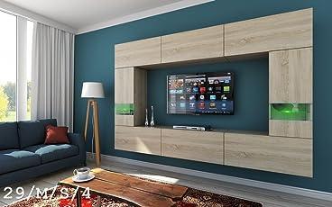 Hervorragend HomeDirectLTD Future 29 Moderne Wohnwand, Exklusive Mediamöbel, TV Schrank,  Schrankwand, TV