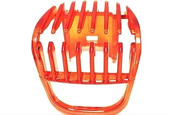 UIB -----------PHILIPSSSSS QT4005,QT4011 Beard Trimmer Attachment Comb (Red)