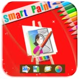 Smart Paint on canvas:
