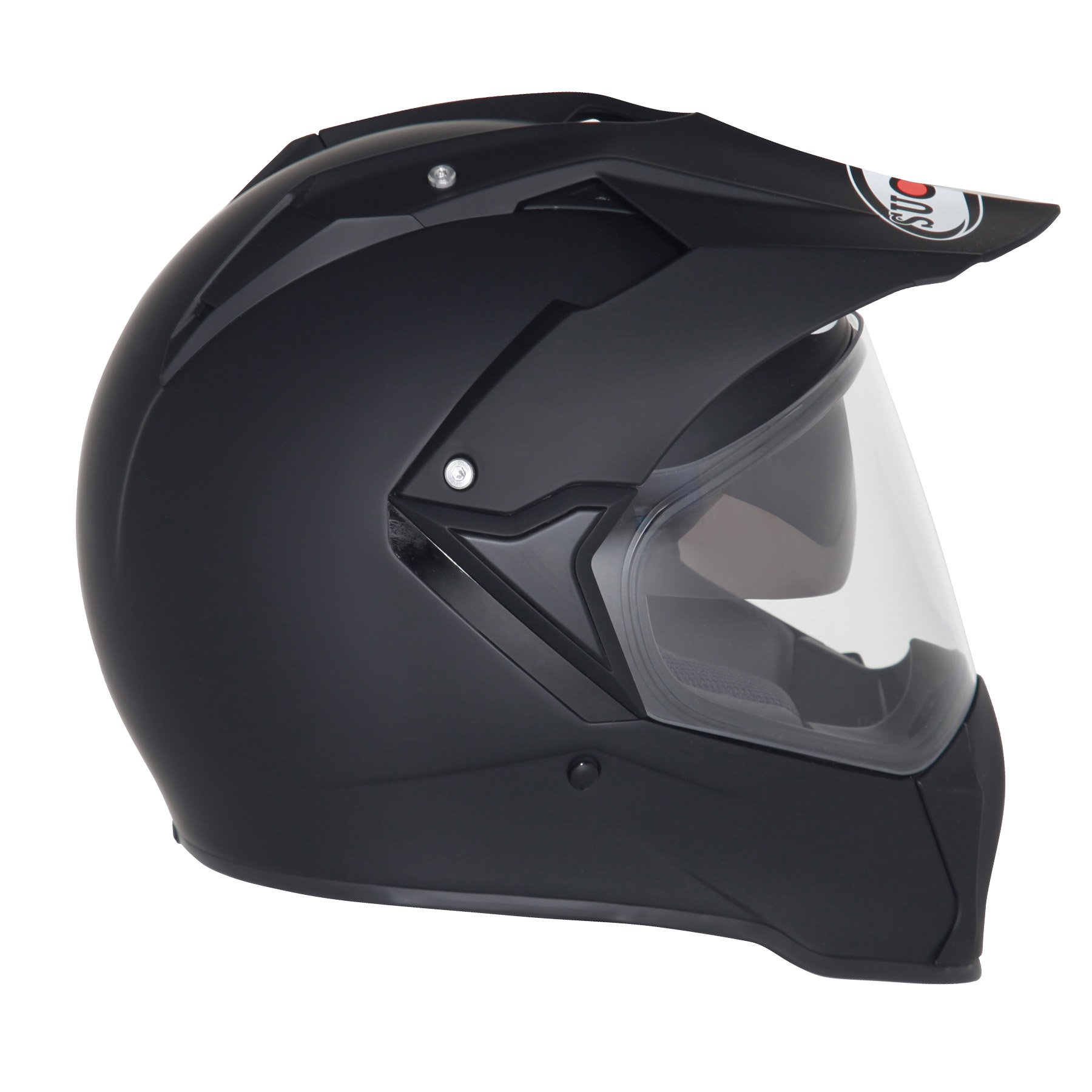 SUOMY - Casco Mx, Nero Opaco, M