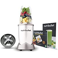 NutriBullet 600W weiß – Mixer mit Extraktor-Klinge macht Superfood aus einfachen Lebensmitteln – Power Standmixer für…