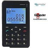 simvalley Mobile Mini Handy: Premium Scheckkarten-Smarthandy Pico RX-492 mit Bluetooth (Kleines Handy)