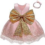 TTYAOVO Bambino Ragazze Compleanno Festa Principessa Vestito Bambino Piccolo Palla Abito
