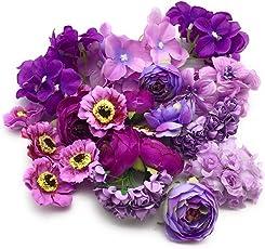 Satyam Kraft Artificial flower Bouquet making,decoration For Wedding Party Decoration DIY Materials 10 bundles,bouquet making flower,gift
