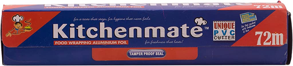 Kitchenmate Food Wrapping Aluminum Foil - 72 m