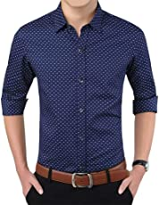 Romano Long Sleeve Casual Shirt in 6 Colors for Men