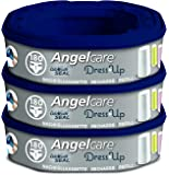 Angelcare AR5003-DE 3er-Pack Nachfüllkassette Dress-Up, blau