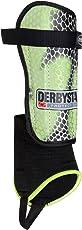 Derbystar Fußball Schienbeinschoner Protect Flash, gelb schwarz grau, 3237