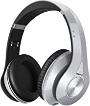Mpow 059 Bluetooth Headphones Over Ear, Hi-Fi Stereo Wireless Headset, Foldable, Soft Memory-Protein Earmuffs, w/Built-in Mic