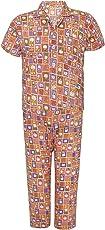 Punkster 100% Cotton Half Sleeve T-Shirt & Pyjama Set for Boys