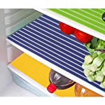 Kuber Industries PVC 6 Pieces Fridge Mat Set (Multi) -CTKTC6936
