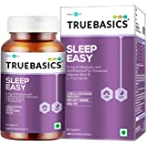 TrueBasics Sleep Easy || Melatonin with Suntheanine (L-Theanine), Valerian & L-Tryptophan || Clinically Researched…