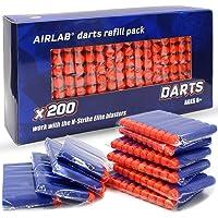 Airlab 200pcs Fléchettes pour Pistolets Nerf Fortnite, 7,2cm Balles pour Nerf N-Strike Elite, Flèches Munition…