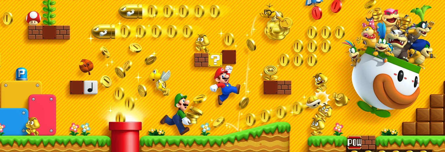 New Super Mario Bros. U Deluxe (Variation)