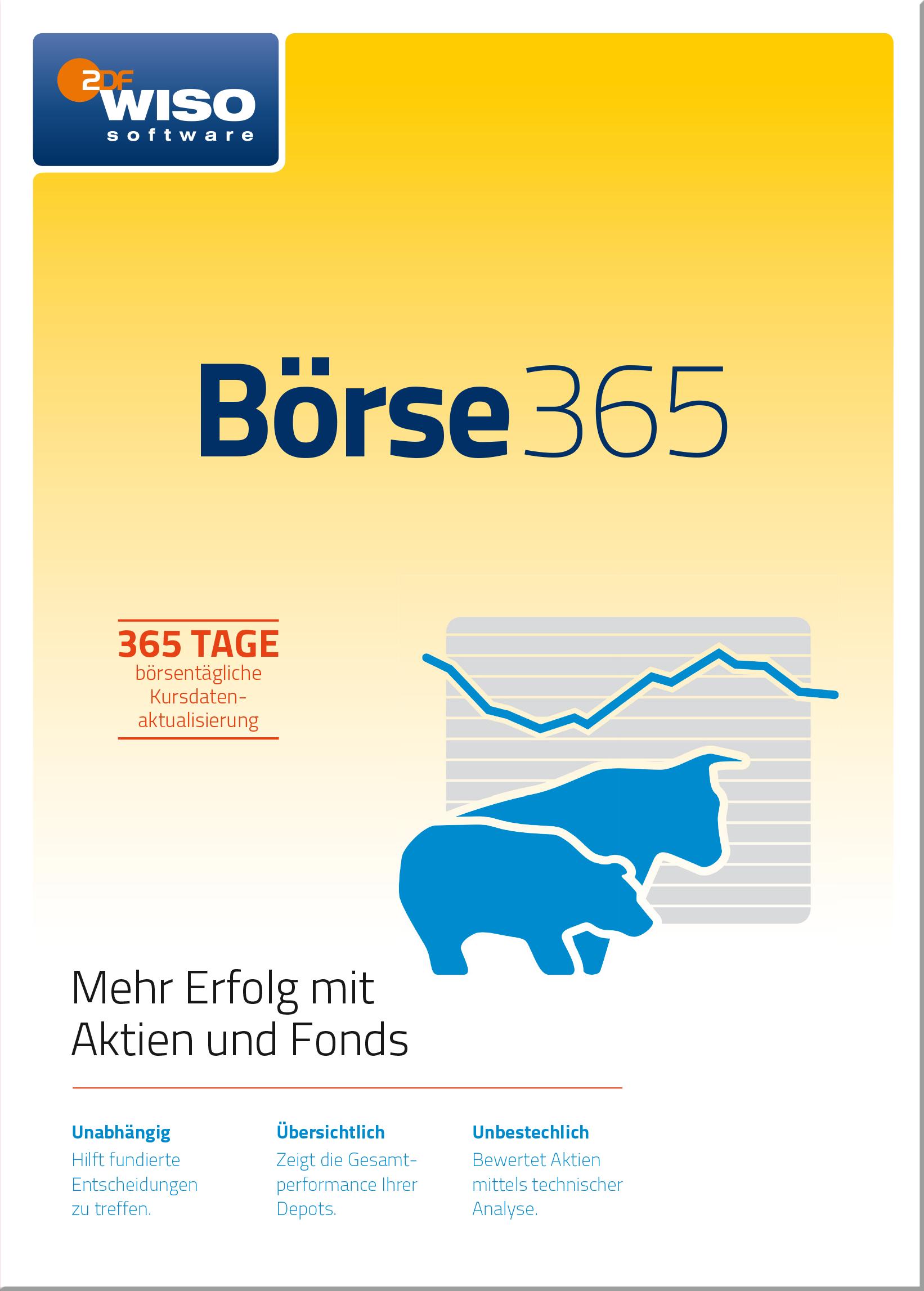 WISO Börse 365 (aktuelle Version) [Online Code]