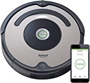 iRobot Roomba 676 WiFi Connected Robot Vacuum - Good for Carpets and Hard Floors - Dirt Detect Technology - 3 Stage Cleaning