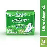 Whisper Ultra Nights Sanitary Pads XL 8 Units