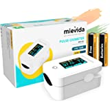 Mievida Finger Tip Pulse Oximeter with OLED Display and Auto Power off Feature