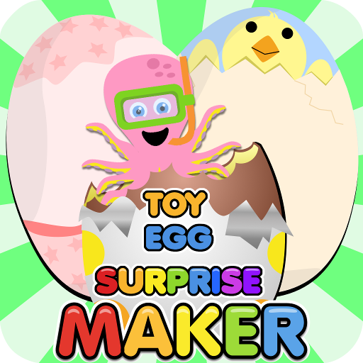 Toy Egg Surprise Maker - Create your own Surprise Eggs - Egg Easter Lego