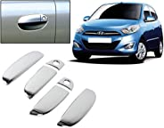 Auto Pearl - Chrome Door Handle Latch Cover - I10