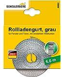 Schellenberg 46002 Rollladengurt 14 mm x 6,0 m - System MINI, Rolladengurt, Gurtband, Rolladenband