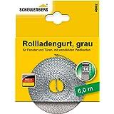 Schellenberg rolluikgordel 6 m grijs