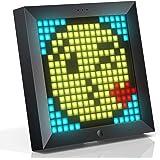 Divoom Pixoo Pixel Art Digitaler Bilderrahmen, Programmierbares 16*16 RGB LED Panel, Smart Clock mit Social Media Benachricht