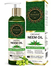 Morpheme Remedies Organic Neem Cold Pressed Oil, 120ml