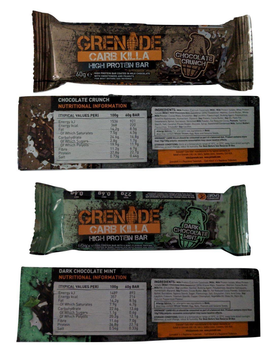 Grenade Carb Killa Protein Bars ALL 11 FLAVOURS 5