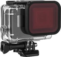 Kupton Rotfilter für Kupton GoPro Hero7/(2018) 6/5 Gehäuse