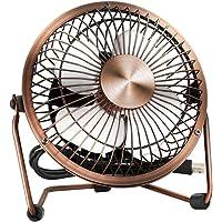 Wsobue Ventilateur USB,Mini Ventilateur de Bureau,Ventilateur de Table Silencieux avec Flux d'air amélioré,Alimenté par…