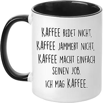 tasse mit spruch kaffee jammert nicht beidseitig bedruckt kaffeetasse lustig arbeit. Black Bedroom Furniture Sets. Home Design Ideas