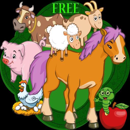 glückliche kleine Farm versteckte Objekte