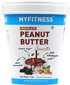 MYFITNESS Chocolate Peanut Butter Smooth 510g