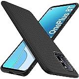 iBetter för Oneplus 8T fodral, premium flexibelt tunt skydd stötsäkert med droppskyddsfodral för Oneplus 8T smarttelefon. (sv
