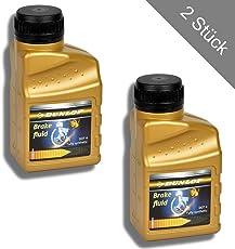 HSM 500ml Dunlop Brake Fluid Bremsflüssigkeit DOT4 Bremsen – Flüssigkeit Hydraulikflüssigkeit